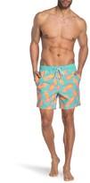 Napzilla Pineapple Printed Board Shorts