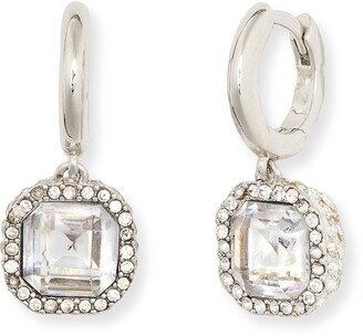 Kate Spade Brilliant Statements Pave Drop Earrings