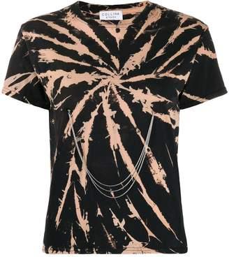 Collina Strada spiral bleach tie dye T-shirt