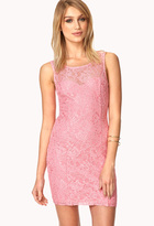 Forever 21 Enchanted Lace Bodycon Dress