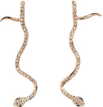 FEDERICA TOSI Long Snake Earrings