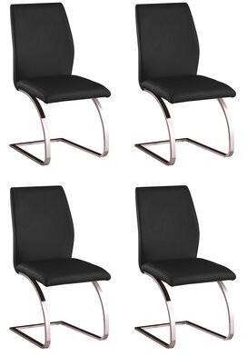 Orren Ellis Antonia Parsons Upholstered Dining Chair (Set of 4