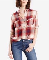 Levi's Plaid Workwear Boyfriend Shirt