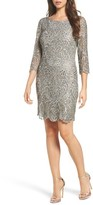 Pisarro Nights Women's Embroidered Cocktail Dress