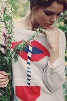 Wildfox Couture Suck It Up Vineyard Sweater in Pout