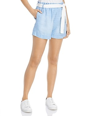 Bella Dahl Belted Pull-On Shorts