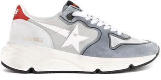Golden Goose Grey Running Sole Suede & Fabric Sneaker