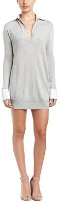 Fate Open Placket Sweaterdress.