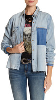 True Religion Distressed Denim Shirt