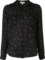 L'Agence star print shirt - women - Silk - M