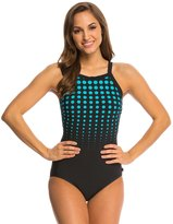 Reebok Hits the Spot High Neck One Piece Swimsuit 8140479