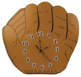 Trend Lab Baseball Glove Wall Clock Brown