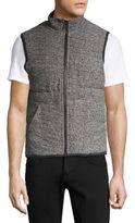 Splendid Mills Heathered Puffer Vest