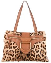 Dolce & Gabbana Ponyhair D-Ring Tote