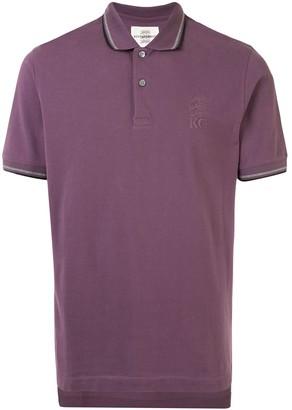 Kent & Curwen Striped Trim Polo Shirt