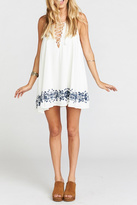 Show Me Your Mumu Lace Up Dress