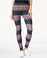 Hippie Rose Juniors' Printed Leggings