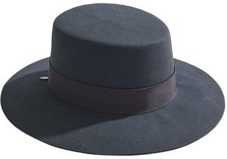 House Of Lafayette Reed Felt Flat Top Hat