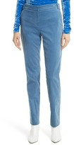 Tibi Women's Moleskin Stretch Cotton Skinny Pants