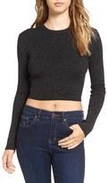 Astr Women's 'Edna' Crop Sweater