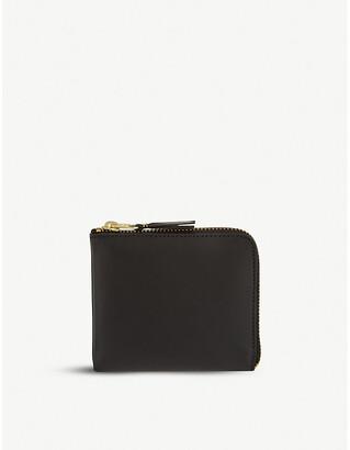 Comme des Garcons Ladies Leather Half-Zip Wallet