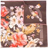 Salvatore Ferragamo floral-print scarf - women - Silk - One Size