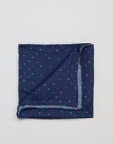 Original Penguin Silk Pocket Square Multi Colour Spots