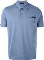 Prada pocket detail polo shirt
