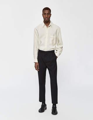 Need Double Pleat Trouser in Black