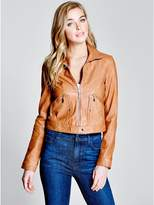 GUESS by Marciano Women's Faline Leather Jacket