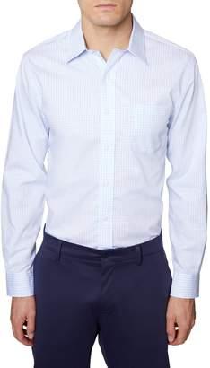 Hickey Freeman Gingham Shirt