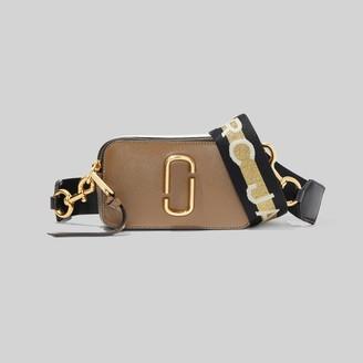 Marc Jacobs The Logo Strap Snapshot Small Camera Bag