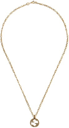 Gucci Yellow gold necklace with InterlockingG