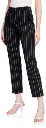 Laundry by Shelli Segal Pinstriped Ponte Pants