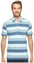 True Grit Stacked Stripe Short Sleeve Polo Men's Clothing