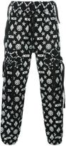 Kokon To Zai gathered pockets track pants - men - Cotton - S