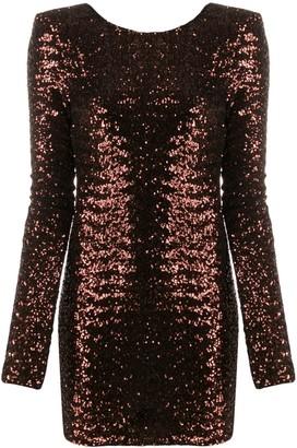 Andamane sequinned mini dress