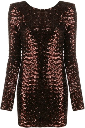 Andamane Sequinned Mini Dress