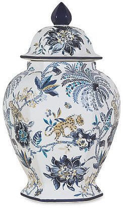 Port 68 Braganza Jar - Blue/White 21""