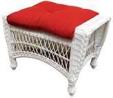 ElanaMar Designs Madison Ottoman with Cushion