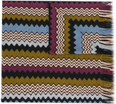 Missoni knitted patterned scarf - women - Acrylic/Wool - One Size