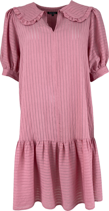 Thumbnail for your product : Margaux Pink Collar Detail Dress - M/L