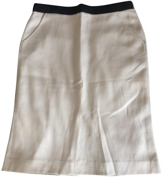 Fendi Pink Cotton Skirt for Women