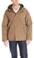 Tommy Hilfiger Men's Hooded Squall Jacket with Fleece Lining