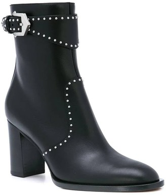 Givenchy Studded Ankle Boot Black