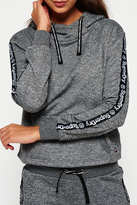Superdry Fashion Fitness Crop Hood