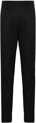 KHAITE Reba high-waist slim-leg trousers