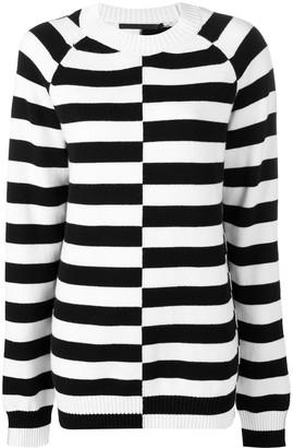 Haider Ackermann Oversized Striped Sweater