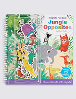 Marks and Spencer Jungle Opposites Magnetic Play Book