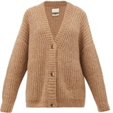 LAUREN MANOOGIAN Fisherman Chunky-knit Alpaca-blend Cardigan - Womens - Camel